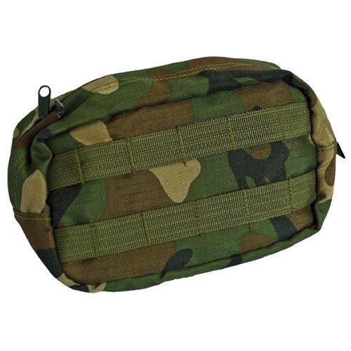 Valken Vest Pouch- V-TAC Zipper pouch-WOODLAND by Valken