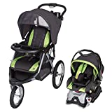 Baby Trend Expedition GLX Jogger Travel System - Flex Loc 32lb Car Seat - Peridot