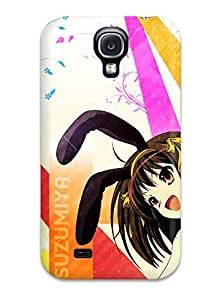 Durable Defender Case For Galaxy S4 Tpu Cover(the Melancholy Of Haruhi Suzumiya)