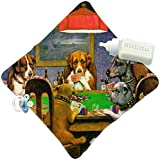 RNK Shops Dogs Playing Poker 1903 C.M.Coolidge Security Blanket