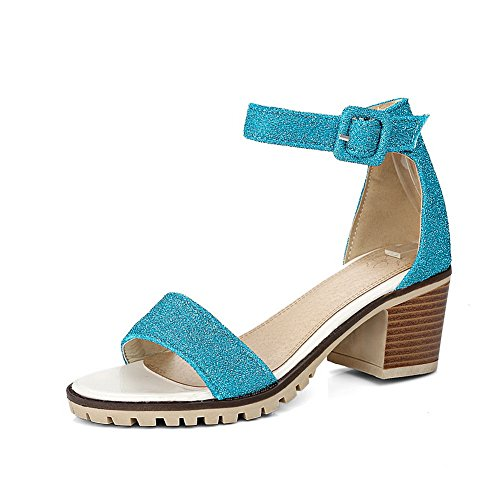 Ouvert Femme Bleu Bout Inconnu 1to9 OF0wfqS46