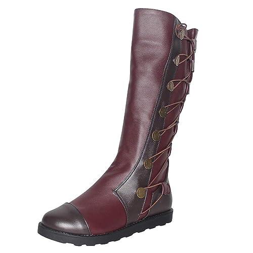 obtener en línea revisa zapatos genuinos Botines de Invierno Mujer, Btruely Zapatos Mujer Otoño ...