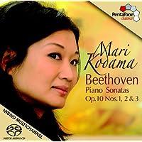 Beethoven: Sonatas Para Piano Op. 10, Nº 1, 2 Y 3 / Kodama