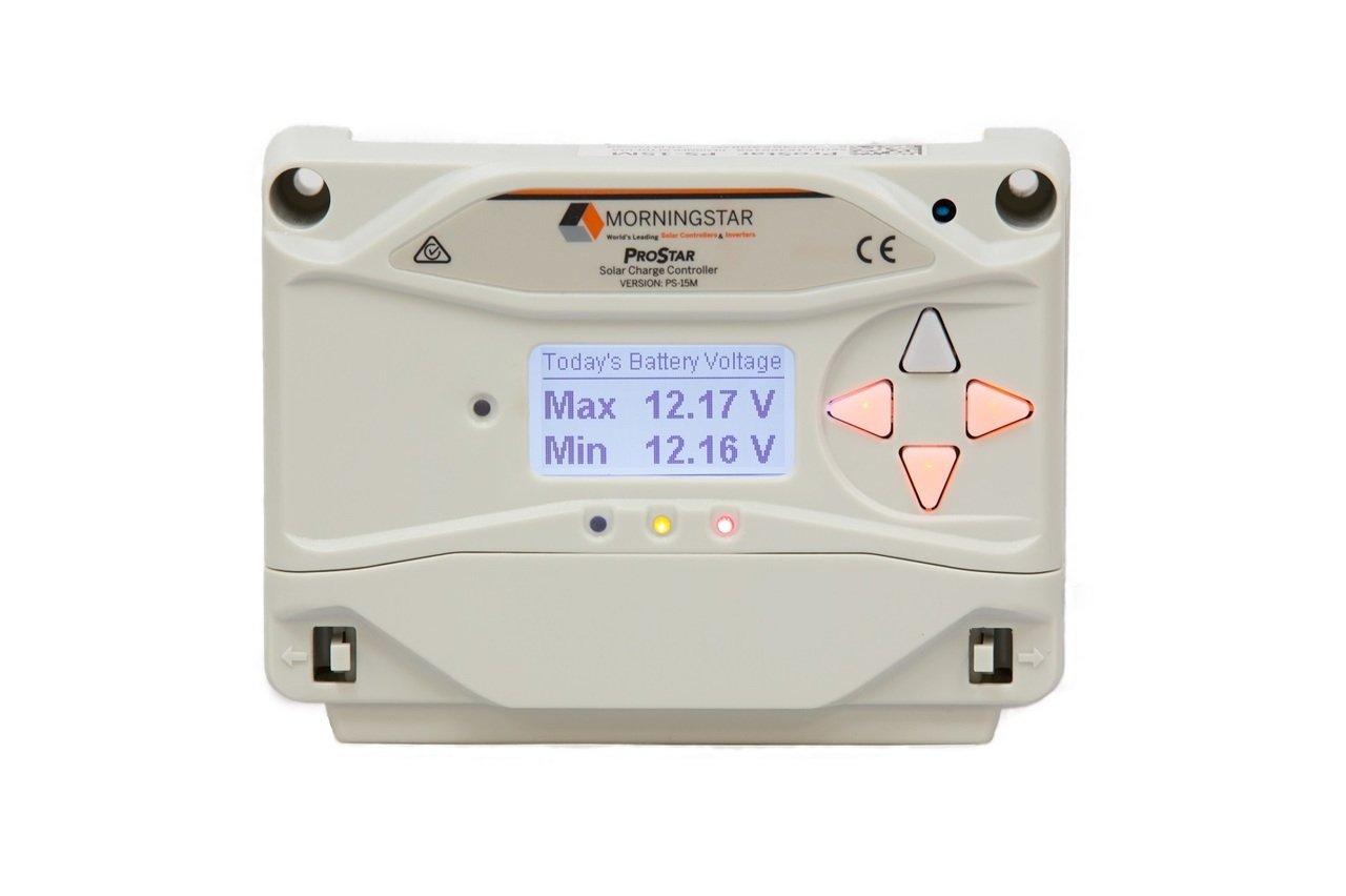 Morningstar PS-30M ProStar Solar Controller 30A w/LCD Monitor