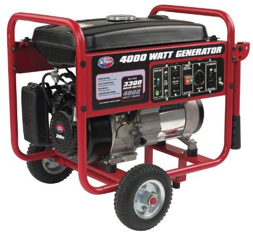 All Power America APGG4000, 4000W Watt Generator, Gas Powered Portable Generator for Home Use Power Backup, RV Standby, Hurricane Damage Restoration Power Backup, EPA Certified