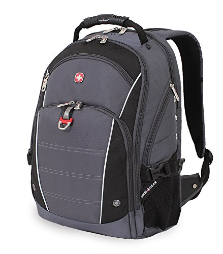 Swiss Gear SA3295 Grey with Black Laptop Computer Backpac...