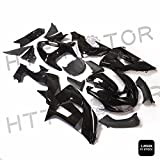 SMT MOTO- Glossy Black ABS Plastic Fairings Bodywork for 2006-2007 Kawasaki Ninja ZX10R