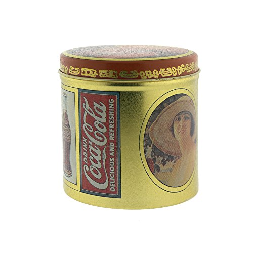 Vintage Inspired Coca Cola Tin Can