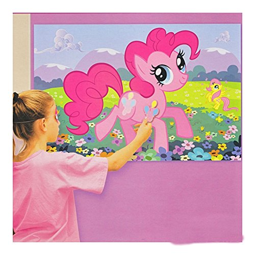 My Little Pony Friendship Birthday Party Game Party Supply Decoration Favors (Pin The Tail On The Pony)