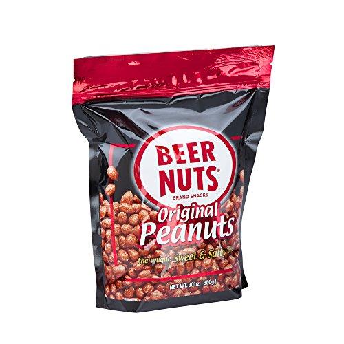 BEER NUTS Original Peanuts | 30 oz. Resealable Bag - Sweet and Salty