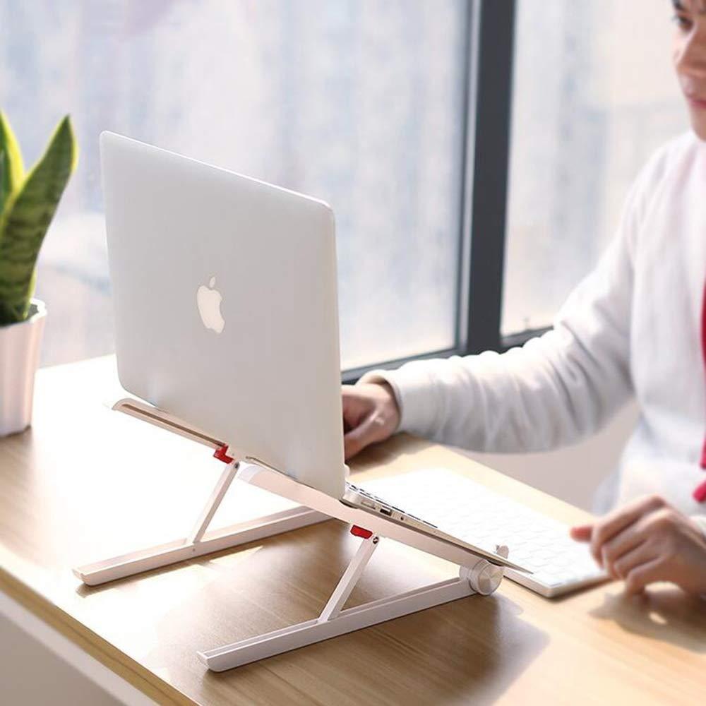 Zhihui Lapdesks ZZHF diannaozhijia Bandeja para computadora portátil, Soporte portátil (Color para computadora portátil (Color portátil : Blanco Two Profiles) fce1e6