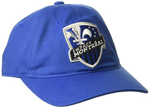 adidas MLS Montreal Impact Women's Adjustable Slouch Hat, One Size, Blue