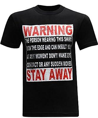 Warning Men's Funny T-Shirt