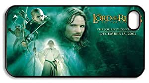 The Lord of the Rings Iphone 4 4s Hard Plastic Black Case, Designer iPhone 4 4s case