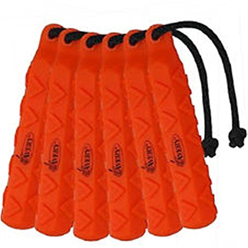 "Avery Sporting Dog 2"" HexaBumper Trainer,Orange,Pack of 6"