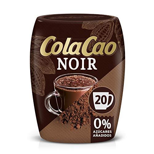 ColaCao Noir: Intense smaak en 0% toegevoegde suikers – Om te genieten van warme chocolademelk in de winter 300 g