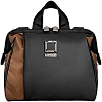 Lencca Olive Collection Carrying Bag for Canon EOS-1D C / EOS-1D X / EOS-1D Mark IV / EOS-1Ds Mark III Digital SLR Cameras (Black & Copper)