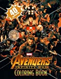 Avengers: Infinity War Coloring Book: Great Coloring Book for Kids and Adults, 40 Illustrations