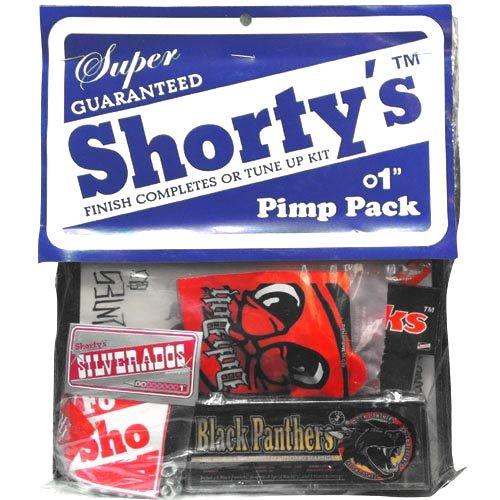 リラックスした寛大な悩むSHORTYS ショーティーズ スケボー パーツ PIMP PACK ベアリング&スペアパーツ&DVD NO6
