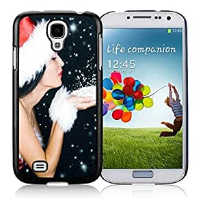 linJUN FENGCustomization Samsung S4 TPU Protective Skin Cover Merry Christmas Black Samsung Galaxy S4 i9500 Case 95