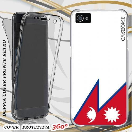 CUSTODIA COVER CASE NEPAL PER IPHONE 5 FRONT BACK