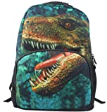 Animal Face 3D Dinosaur Backpack 3D Deep Stereographic Felt Fabric