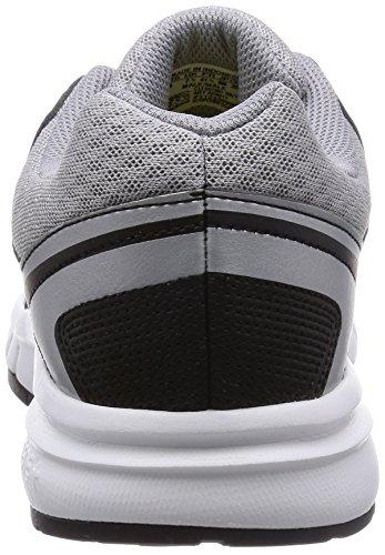 Plata De Atletismo Negro Trainer Hombre Galaxy Zapatillas Gris Adidas Para ItwqCxW7