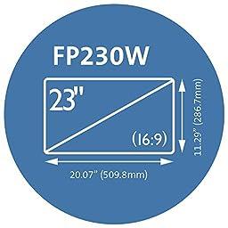 Kensington FP230W Privacy Screen for 23-Inch 16:9 Aspect Ratio Widescreen Monitors (K55798WW)