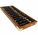 MAGIKON Vintage-Style Chinese Wooden Abacus, Chinese Lucky Calculator