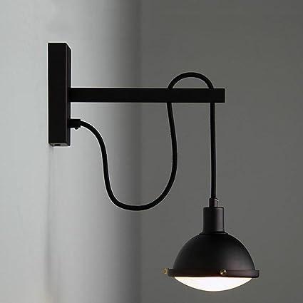 Lámpara de pared Sexy - Retro Americano Botella De Vidrio Arte De Hierro Lámpara De Noche