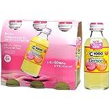 ハウスウェルネスフーズ C1000 ビタミンレモン コラーゲン&ヒアルロン酸 140mlX6本