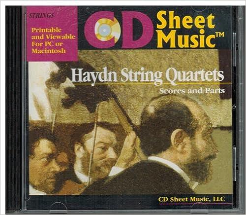 CD Sheet Music: Haydn Complete String Quartets