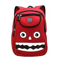 Kiddi Choice Nohoo Car Monster Neoprene Backpack, Red