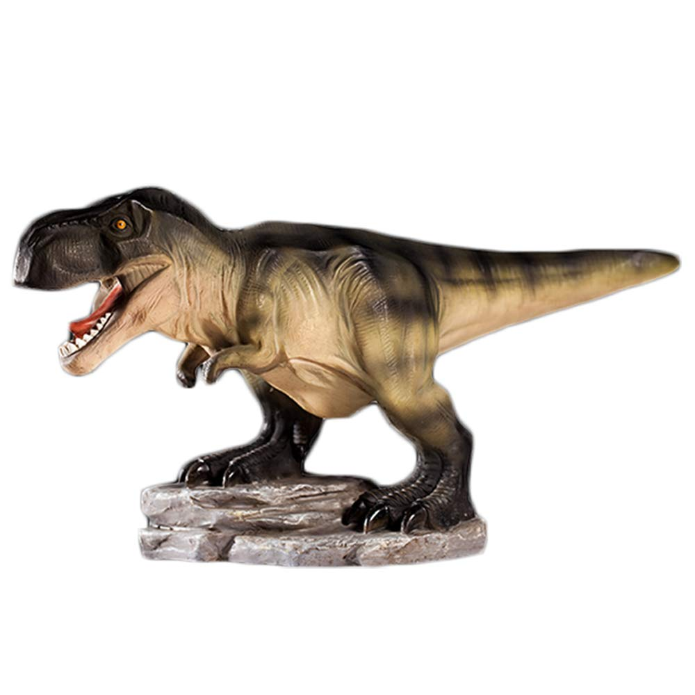 Colias Wing Home Decor Unique Tyrannosaurus/Stegosaurus/Brachiosaurus Dinosaur Series Shape Stylish Design Coin Bank Money Saving Bank Toy Bank Cents Penny Piggy Bank-Brown/Yellow/Green