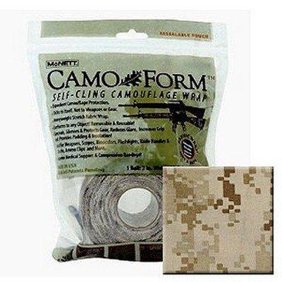 McNett MARPAT DESERT MIL 19413 Camo Form Protective Camouflage Wrap 12 ft roll, Bag