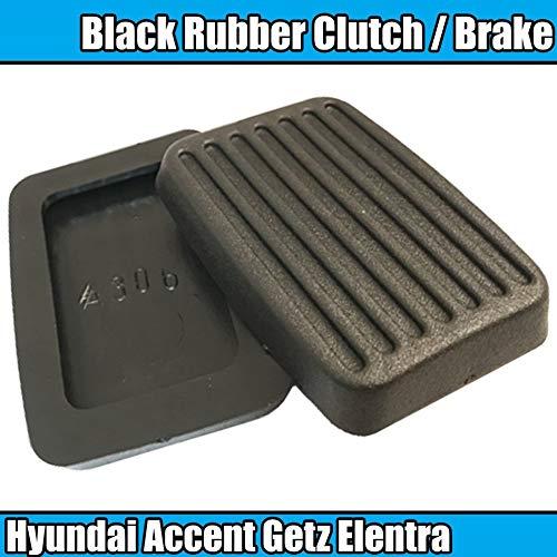 BFHCVDF 2X pour Caoutchouc Hyundai Accent Getz Elentra Excel Scoupe Frein Embrayage Frein Noir