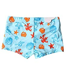 Newborn Infant Baby Boys Swim Shorts Starfish Beach Swim Bottom