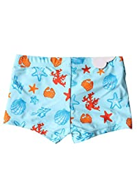 eKooBee Infant Baby Boys Swim Board Shorts Starfish Swim Bottoms