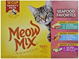 Meow Mix Seafood Favorites Variety Pack Wet Cat