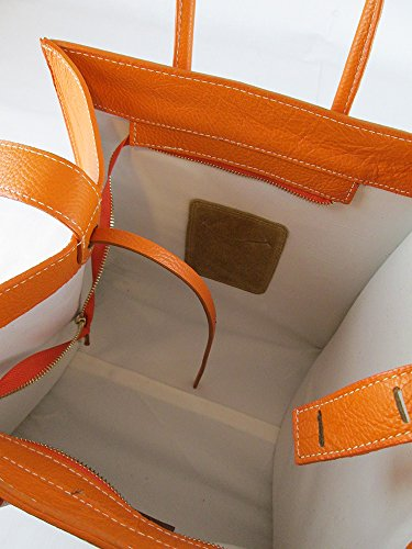 véritable similaire cuir en véritable orange Sac celine Fabriqué FG cuir et en Italie daim ZAHf5