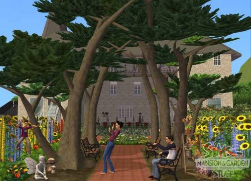 Electronic Arts The Sims 2 Mansion & Garden Stuff - Juego (DEU): Amazon.es: Videojuegos