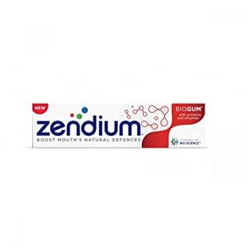 Amazon.com: Zendium biogum pasta dental 75 ml: Health ...