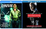 Ex Machina & Drive [Blu-ray] 2 Pack Psychological Thriller Movie Set Double Feature