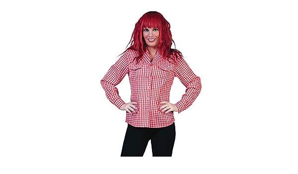 Stockofolie-Camisa de cowgirl, country Disfraz para mujer, 36-38: Amazon.es: Juguetes y juegos