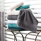 Hammam Linen Cool Grey Bath Towels 4-Pack - 27x54