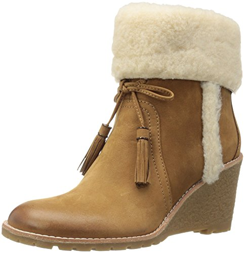 G.H. Bass & Co. Women's Tiffany Ankle Bootie, Chestnut, 8.5 M - Us Tiffany Com