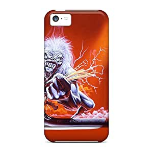 New Fashion Premium Tpu Case Cover For Iphone 5c - Iron Maiden wangjiang maoyi