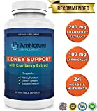 Kidney Support – Superb Blend of Cranberry Extract and 20 Other Herbs and Nutrients Formulated to Help Support the Kidneys and Urinary Tract, 60 Capsules, 2 Month Supply, 100% Satisfaction Guarantee Review
