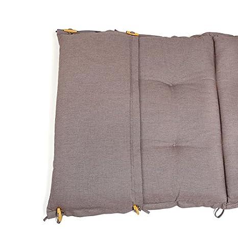 ROG garden-line PL85 Teflon/™ Premium Auflage F/ÜR Liege 198 x 64 cm ANTHRAZIT dralon/®