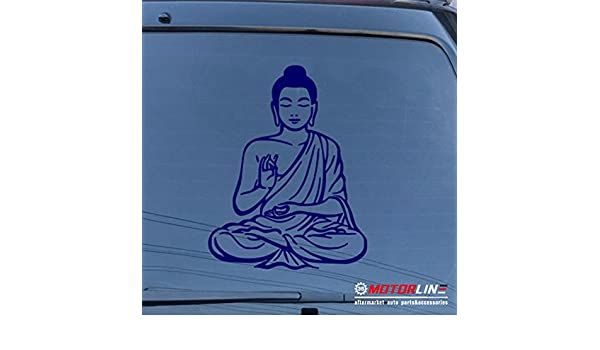 Buddha Hand Wheel Of Law Decal Sticker Choose Color Large Size #lg125